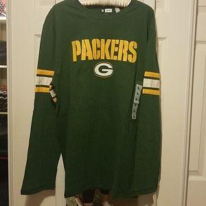 NWT Men's Packers Long Sleeve Tee